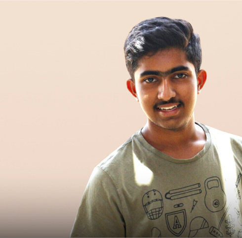 darshan murali student volunteer
